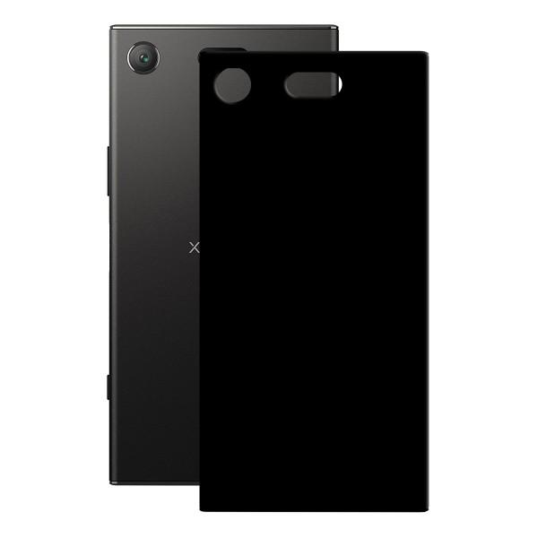 PEDEA TPU Case für das Sony Xperia XZ1, schwarz