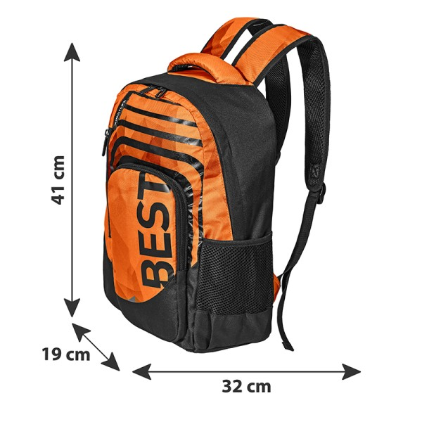 BESTLIFE Rucksack BREVIS orange