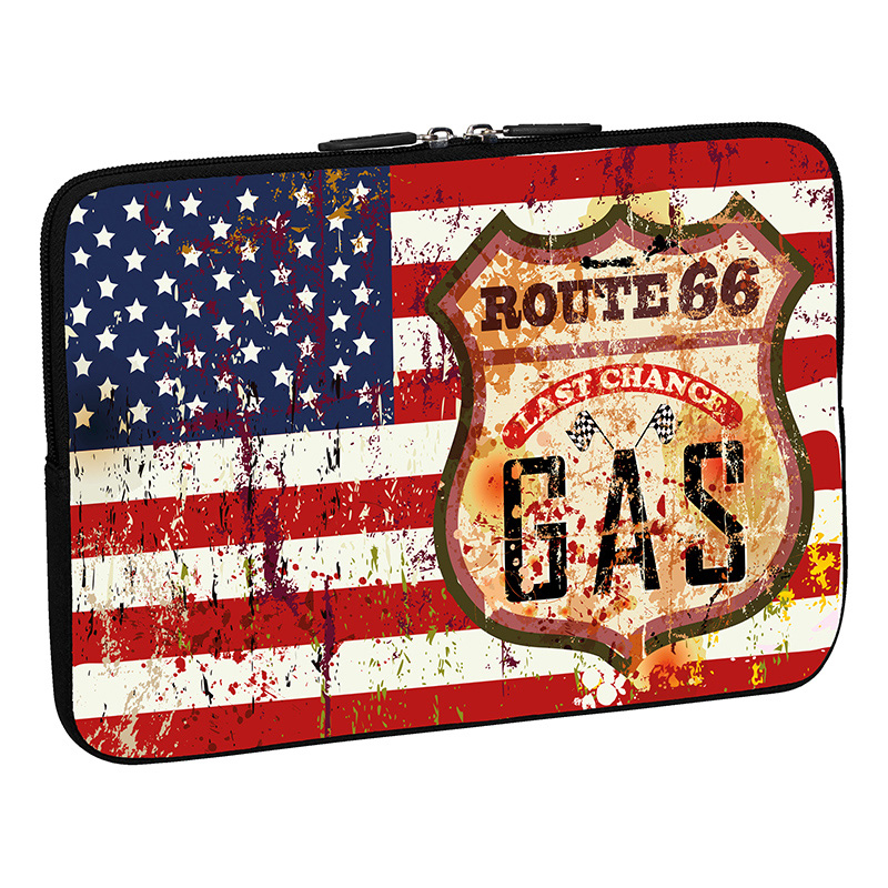 "PEDEA Laptop Design Sleeve 15.6"" Stars and Stripes"
