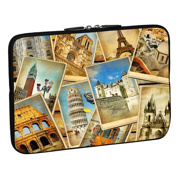PEDEA Design Tablethülle: vintage travel 10,1