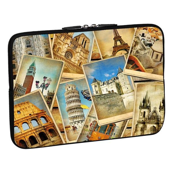 PEDEA Design Schutzhülle: vintage travel 13,3