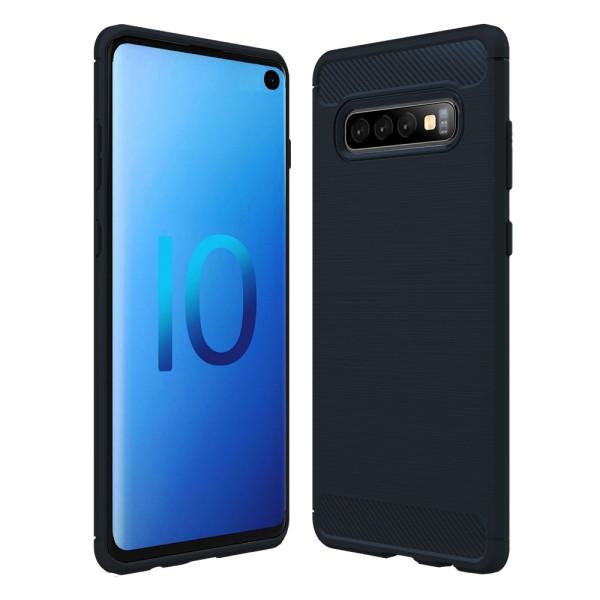 PEDEA Carbon Look Case für das Samsung Galaxy S10