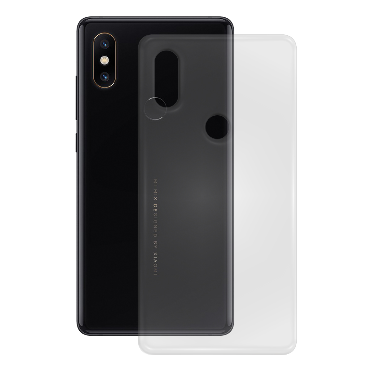 TPU Case glatt Xiaomi Mi Mix 2S, transparent