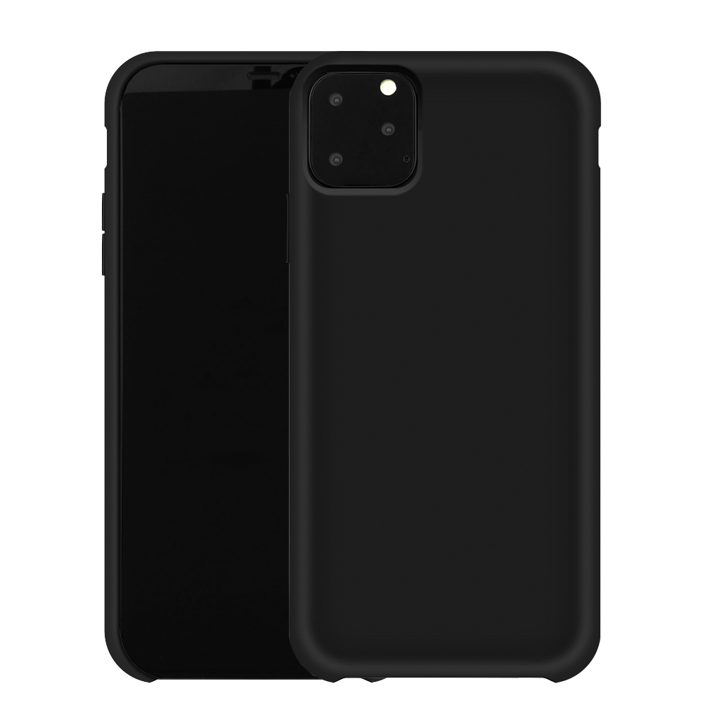 Liquid Silicone Case Apple iPhone XI, schwarz