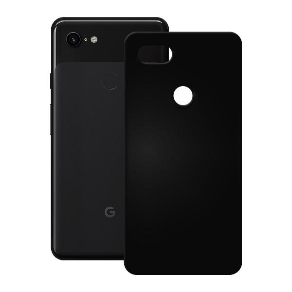 PEDEA TPU Case für das Google Pixel 3 XL, schwarz