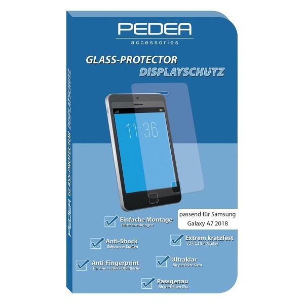 PEDEA Display-Schutzglas Samsung Galaxy A7 2018