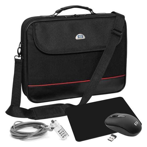"""Laptop Starterset 13,3"""" (33,8cm) Trendline schwarz"""