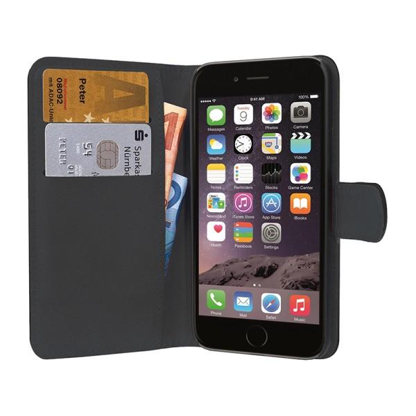 PEDEA Bookstyle für das Apple iPhone 6S, schwarz