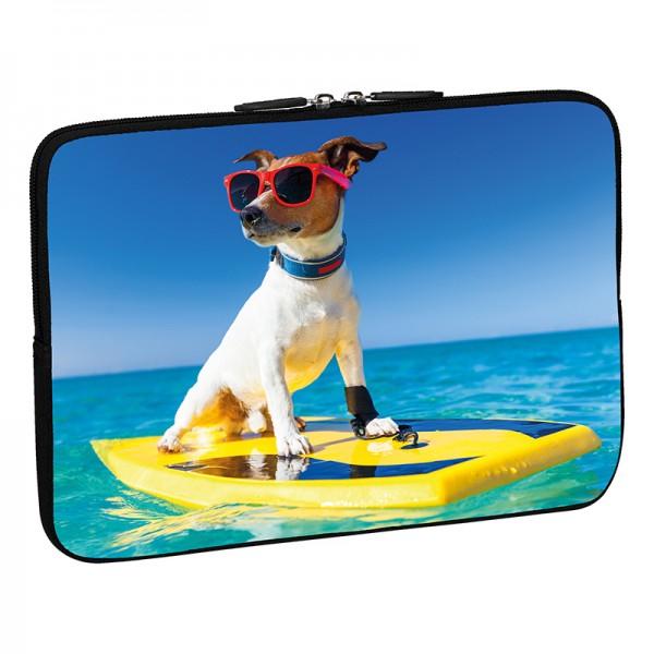 PEDEA Design Schutzhülle: surfer dog 15,6