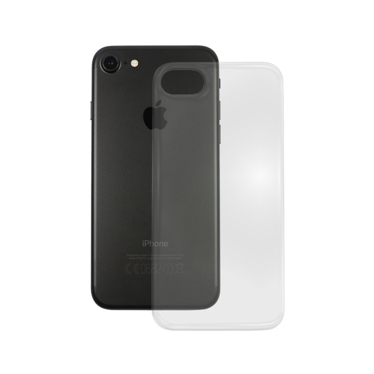 TPU Case Apple iPhone 7, transparent