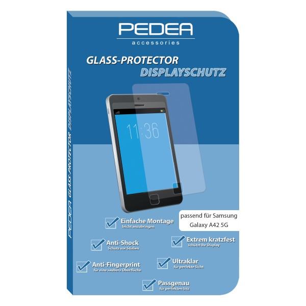 PEDEA Display-Schutzglas Samsung Galaxy A42 5G