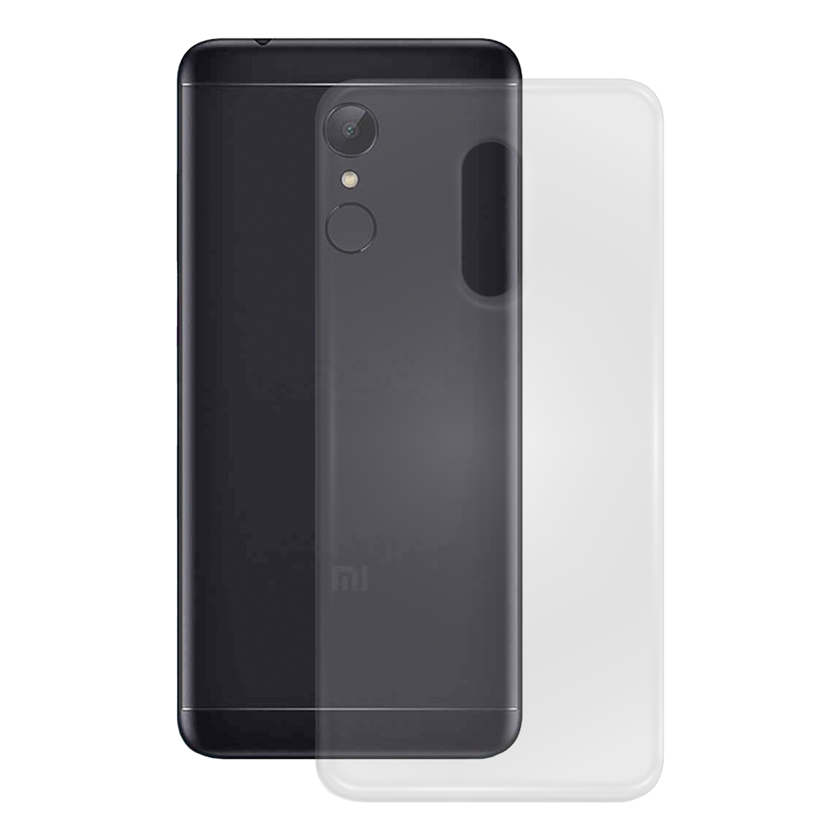 TPU Case glatt Xiaomi Redmi 5, transparent