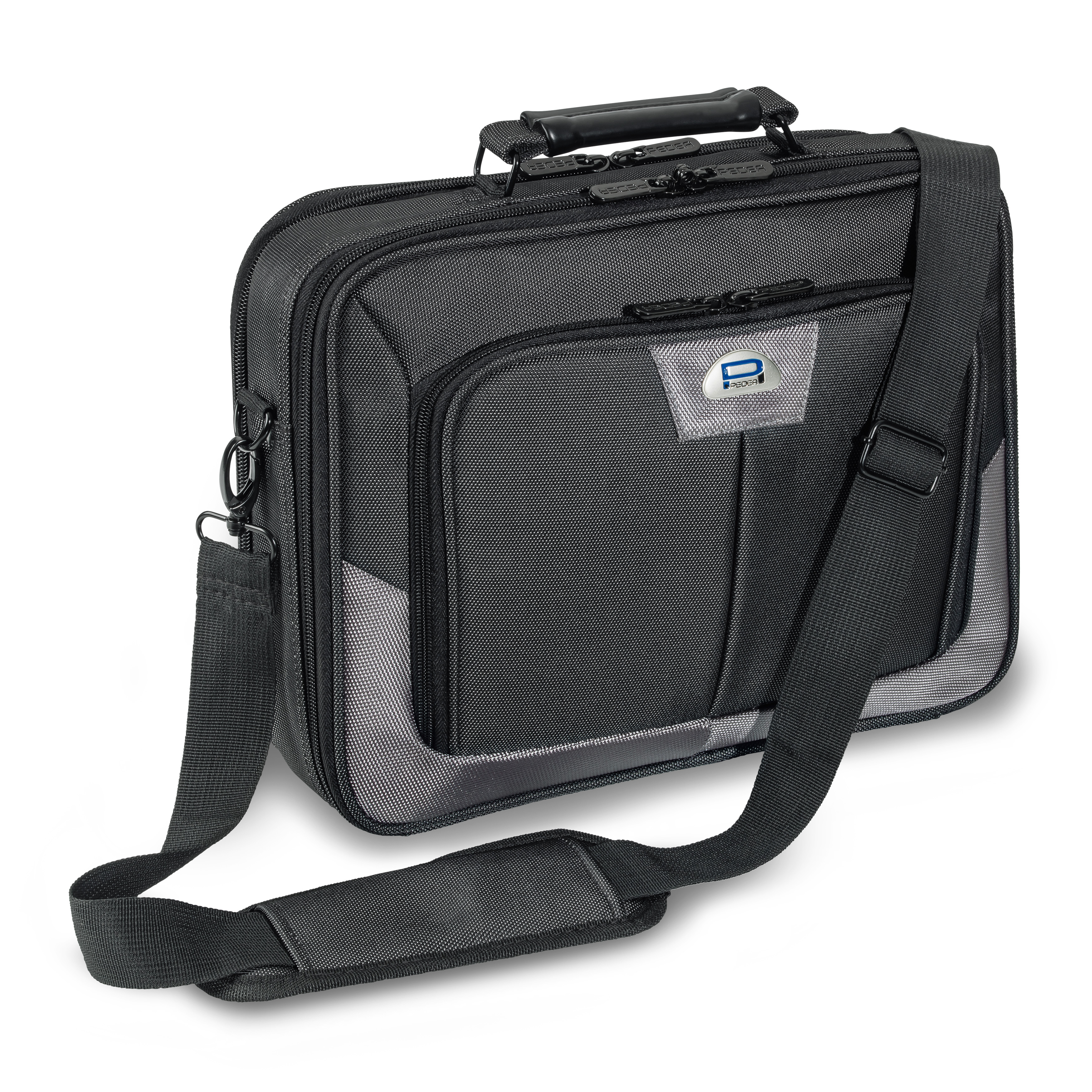 PEDEA Premium Clamshell Laptop Bag Case 15.6 inch