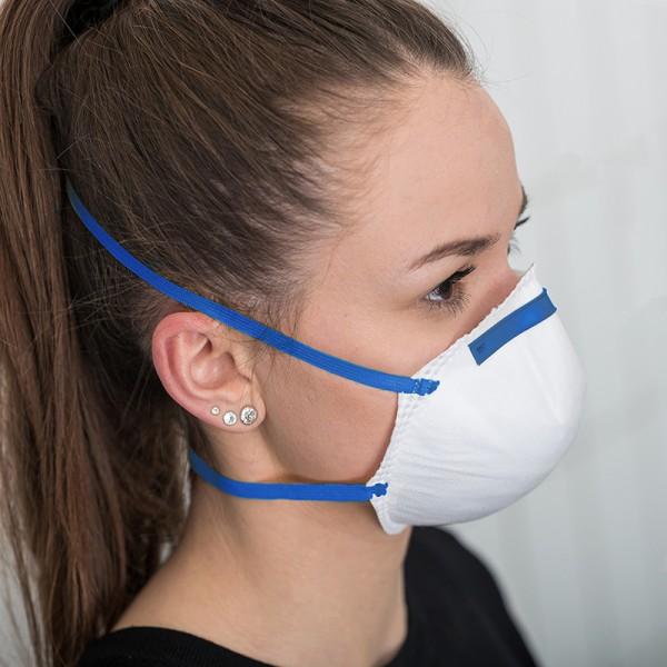 20 Atemschutzmaske/Respirator FFP2NR ohne Ventil