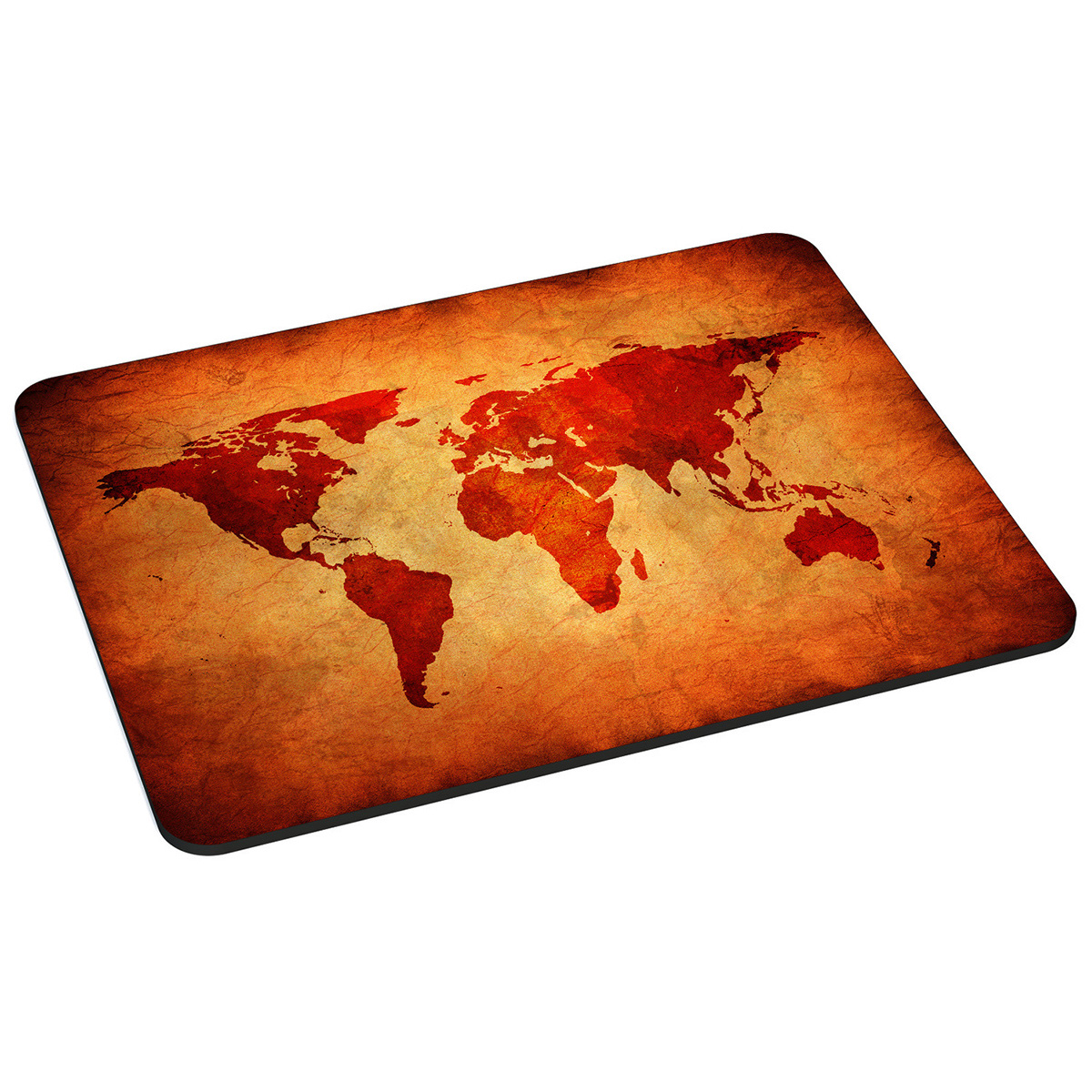PEDEA Design Mauspad, brown global map