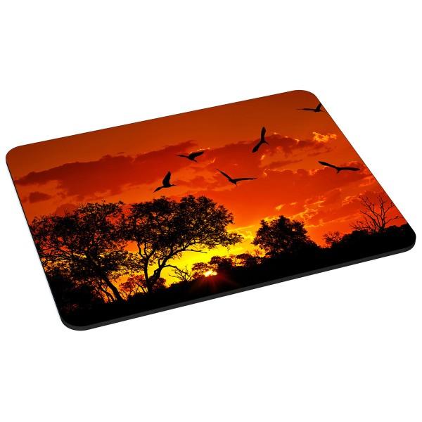 PEDEA Gaming Office Mauspad L african sunset