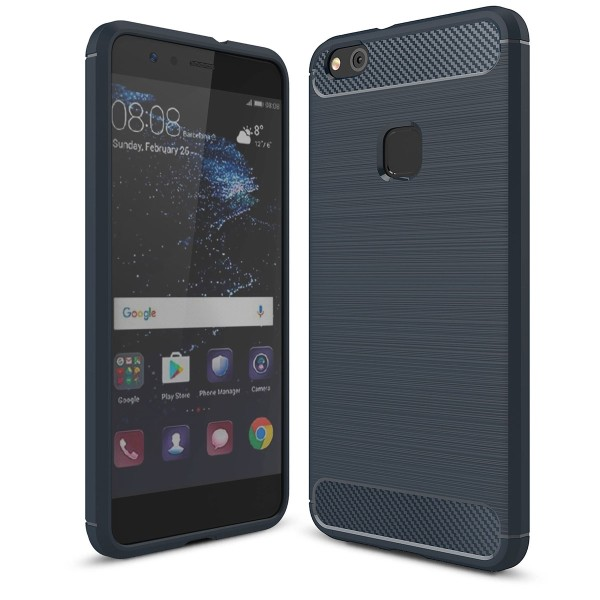 PEDEA Carbon Look Case für das Huawei P10 Lite