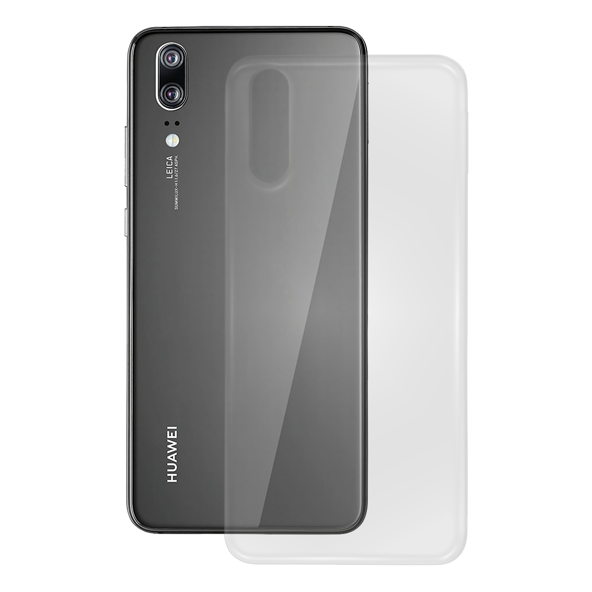 TPU Case glatt Huawei Mate 20, transparent