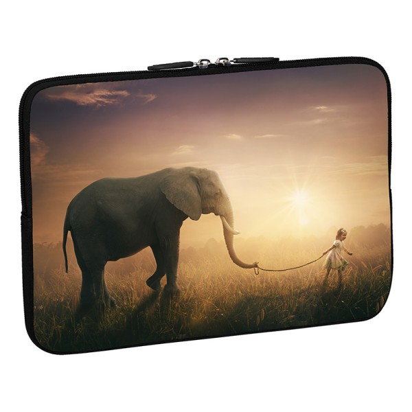 PEDEA Design Schutzhülle: elephant 17,3