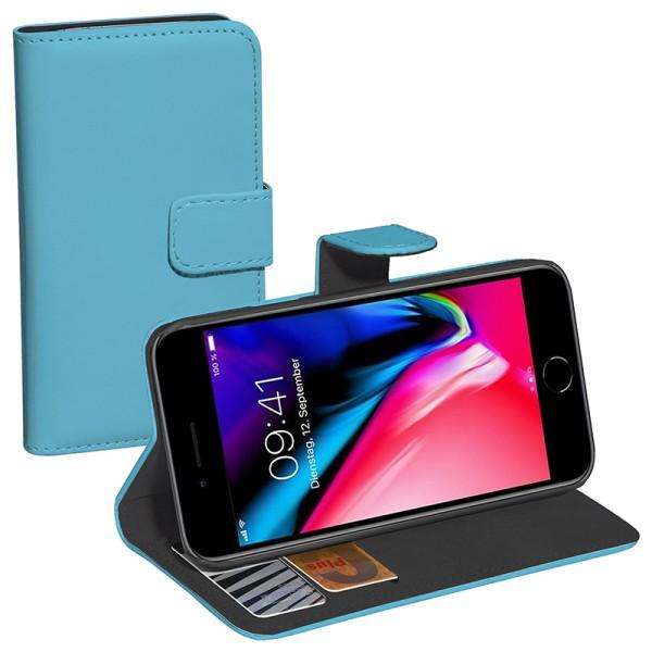 PEDEA Bookstyle Apple iPhone 7 Plus / 8 Plus, blau