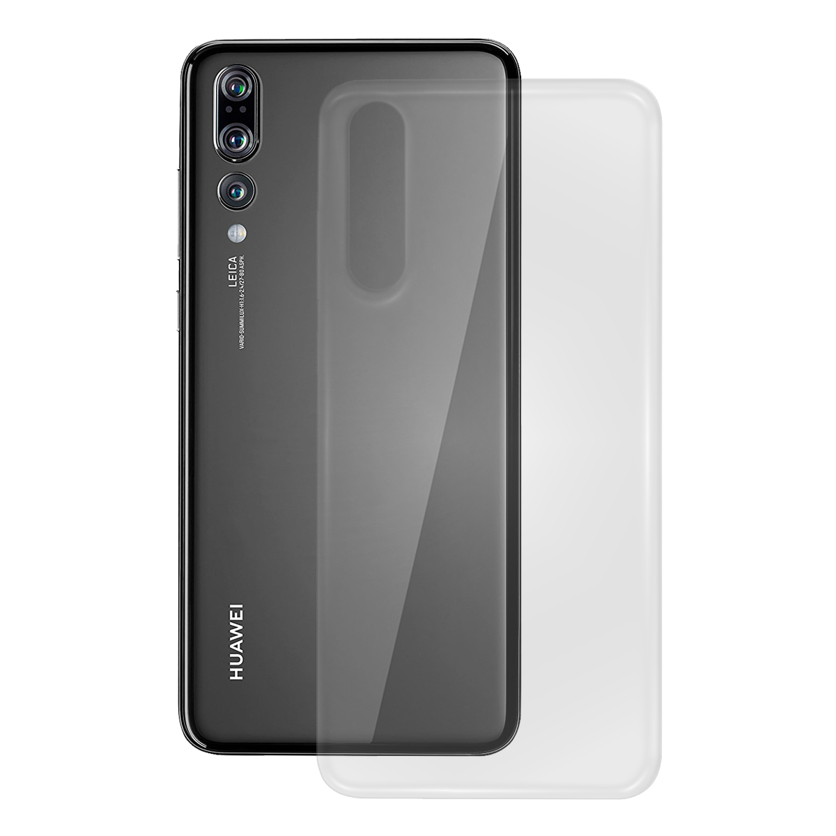 TPU Case glatt Huawei Mate 20 Pro, transparent