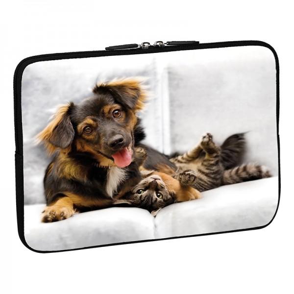 PEDEA Design Tablethülle: cat and dog 10,1