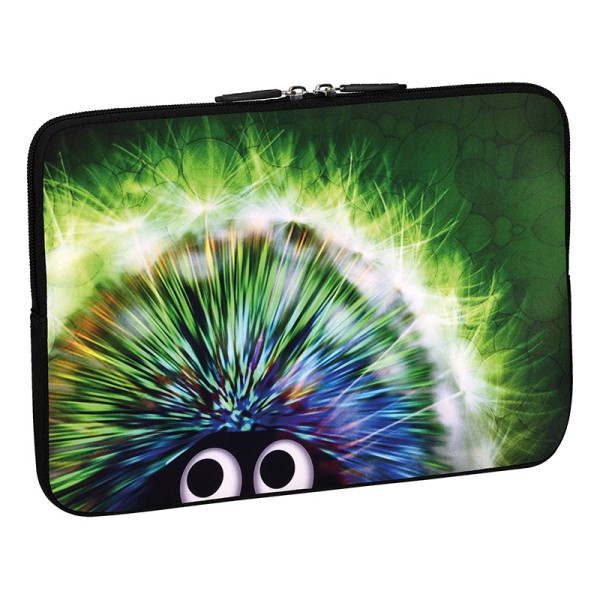 PEDEA Design Schutzhülle: green hedgehog 15,6