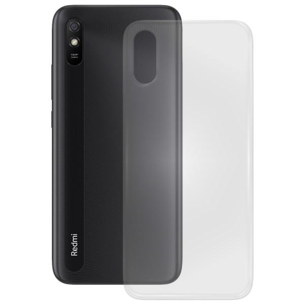 TPU Case glatt Xiaomi Redmi 9A, transparent