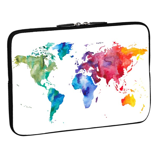 "PEDEA Design Tablet-Tasche 10,1"" color world"
