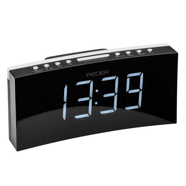 PEDEA FM Radiowecker Projektionswecker Uhr mit
