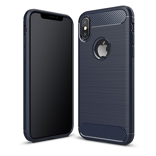 PEDEA Carbon Look Case für das Apple iPhone XS Max