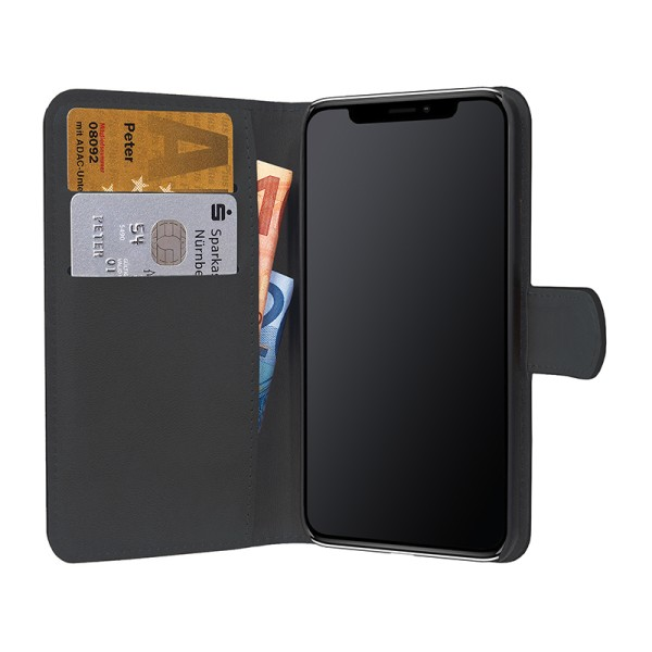 PEDEA Bookstyle für das Apple iPhone XR, schwarz