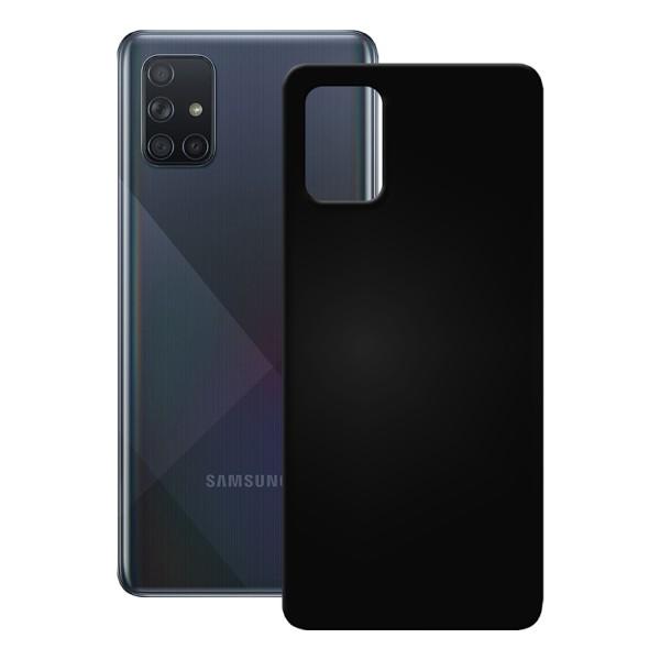 PEDEA TPU Case für das Samsung Galaxy A71, schwarz