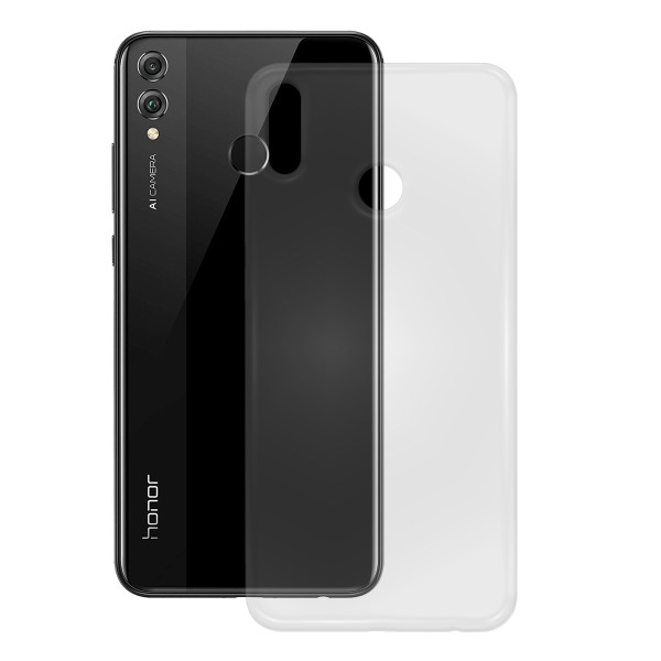 PEDEA TPU Case für das Honor 8X, transparent