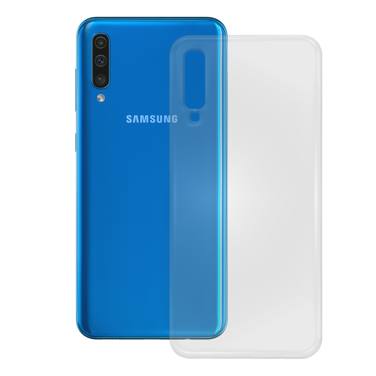 TPU Case Samsung Galaxy A50, transparent