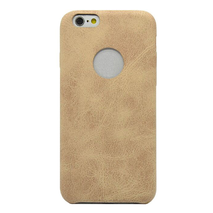 PEDEA Slim Cover für Apple iPhone 6/6S, beige