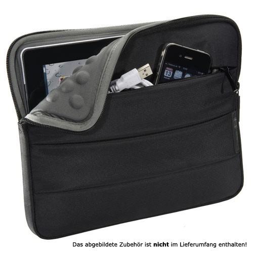 PEDEA Tablet PC Tasche Just-Black 10,1-11 Zoll (2